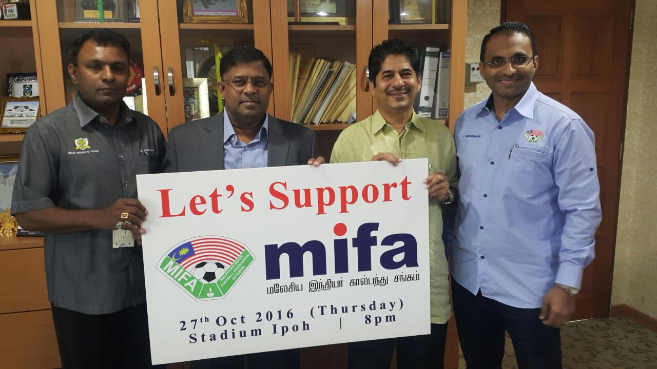 Let's Support MIFA Football FAM Cup