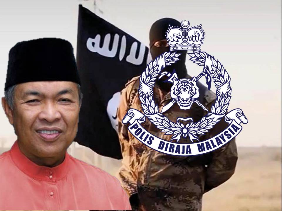 IS Terrorist Arrested in Malaysia Home Minister