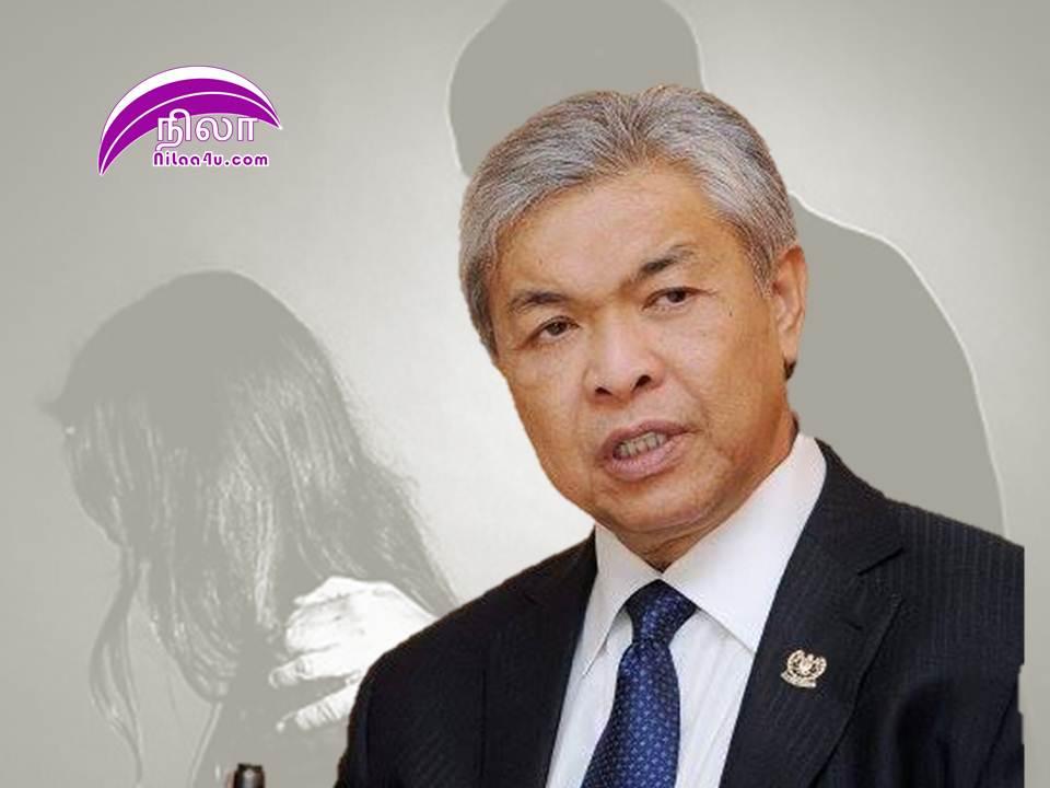 Zahid Hamidi UMNO Molest Case